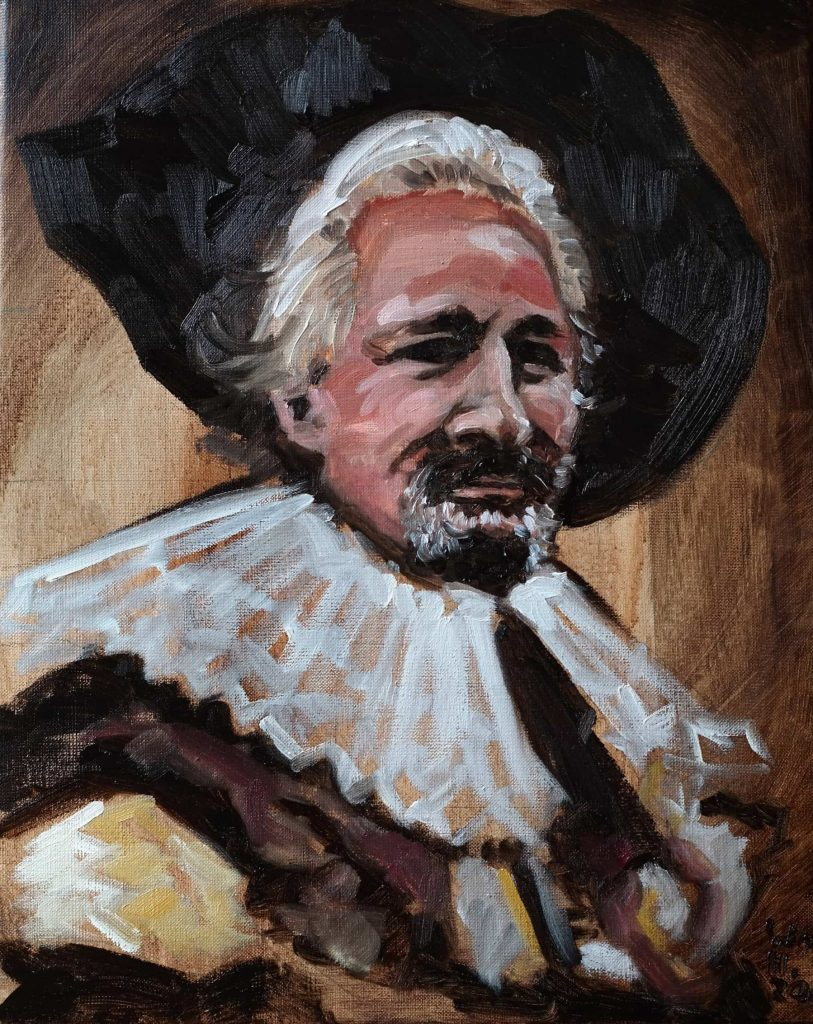 Portrait of Jeroen